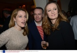 charles finch and chanel pre-bafta dinner, annabel's, london, britain - 09 feb 2013, ,