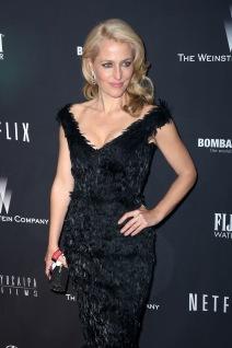 Gillian Anderson - Weinstein Company's 2014 Golden Globe 09