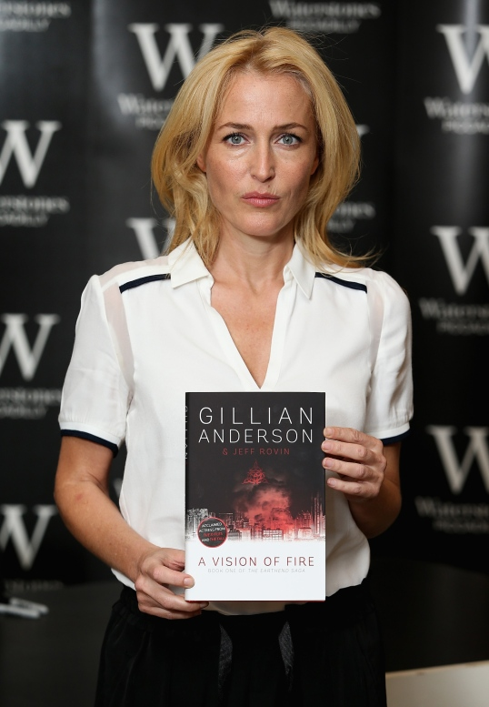 Gillian Anderson Book Signing