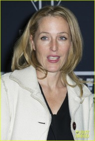 Triumph Motorcycles VIP launch party, The Bike Shed Motorcycle Club, London Featuring: Gillian Anderson Where: London, United Kingdom When: 28 Oct 2015 Credit: WENN.com