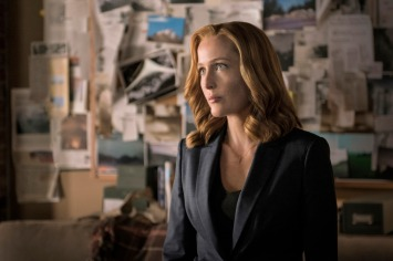 "THE X-FILES: Gillian Anderson in the ""My Struggle II"" season finale episode of THE X-FILES airing Monday, Feb. 22 (8:00-9:01 PM ET/PT) on FOX. ©2016 Fox Broadcasting Co. Cr: Ed Araquel/FOX"
