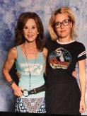 with Linda Blair